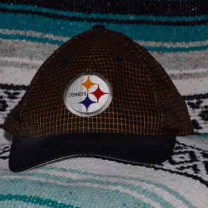 Vintage Pittsburgh Steelers Logo 7 Hat Snapback